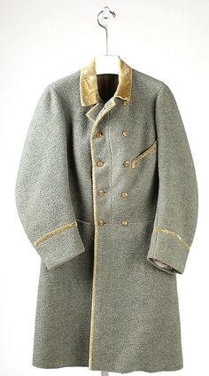 1845 British Overcoat at the Metropolitan Museum of Art, New York