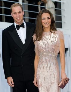 Prince William and his wife Catherine, Duchess of Cambridge they are a beautiful couple .