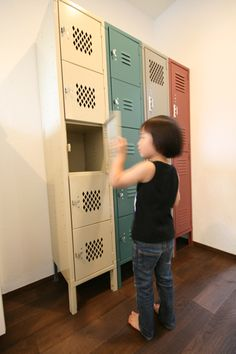 love these lockers!