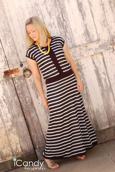 DIY Maxi Dress - FREE Sewing Tutorial