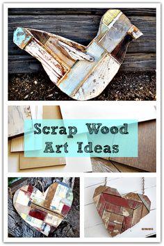 crafti, art idea, pallet, scrap wood art, wood idea, diy, wood project