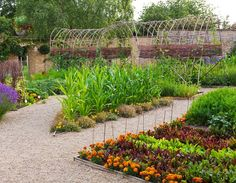 French Vegetable Garden