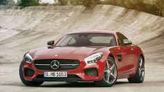 the new Mercedes AMG GT, the successor to the SLS
