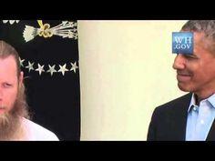Obama Smiles As Soon As Robert Bergdahl Praises Allah