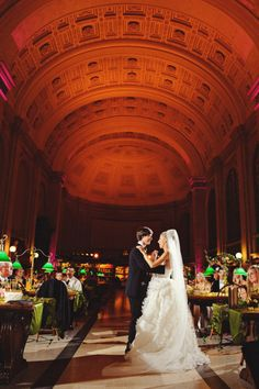 public library wedding
