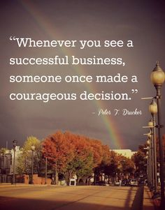 Small business owners are courageous