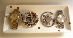 DIY Gold Dot Jewelry Tray - THIS I can do