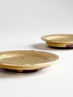 // MATHIAS KAISER gold_plates
