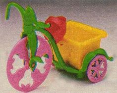 Strawberry Shortcake Tricycle - 80s Toys and Games, Dolls and Figures | Stuff from the 80s