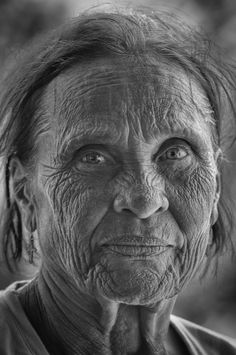 You must pay for everything in this world one way and another. There is nothing free except the Grace of God. You cannot earn that or deserve it. ~ Charles Portis, True Grit. Old lady, wrinckles, aged, woman, intense eyes, a face that have lived, portrait, beauty, photo b/w.