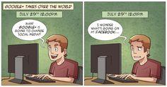 Google+ vs. Facebook