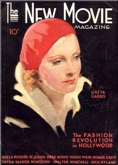 Greta Garbo by Earl Christy.