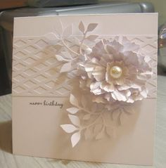 Sue lesleys Craft Room: Less is More Challenge Week 14 - Colour challenge - White on White