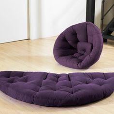 Nest Futon Purple now featured on Fab.