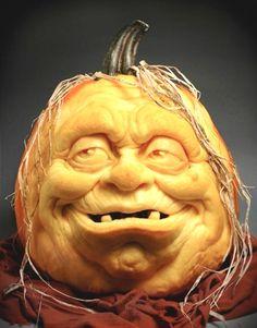 face pumpkin carving for halloween