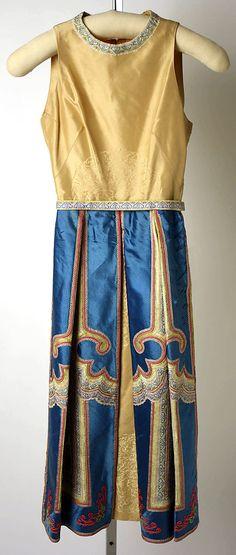 Mainbocher evening dress, 1950s