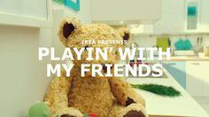 IKEA - Playin' With My Friends (music video) on Vimeo