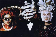 : 1972 Surrealiste Ball  The guests: Senhora Espírito Santo and the Duke and Duchess of Cadaval