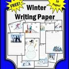 Winter Writing Paper: Here are 10 FREE winter writing pages. Each page features different winter clipart. I hope you and your students enjoy this ...