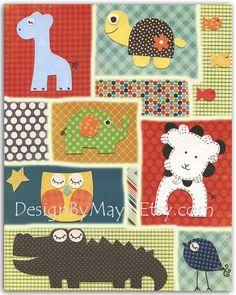 Baby boy room Nursery wall art print Baby boy room by DesignByMaya, $17.00