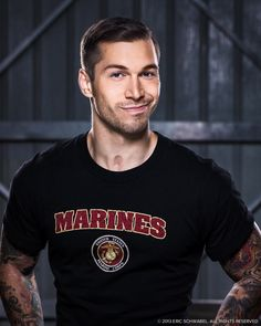 Alex Minsky  One of America's Hero who lost his leg in Afghanistan.. Oh and he is a Beautiful Marine..