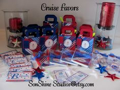 Cruise favors I made for few friends that we were cruised with.  They loved them!