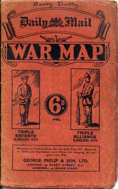 Daily Mail War Map - Retronaut