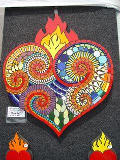 Mosaic Heart   Flickr - Photo Sharing!