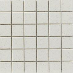 Speckle White 12 in. x 12 in. Unglazed Porcelain Mosaic Floor & Wall Tile-U300DM-12 at The Home Depot