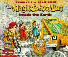(Mentor Text)The Magic School Bus:Inside the Earth