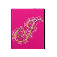 Pink iPad Folio Case