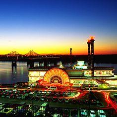Lights over Mississippi