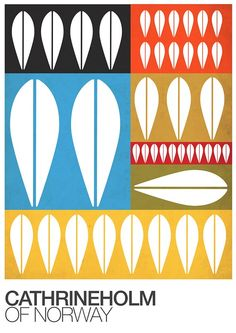 A3 Print with a Cathrineholm Pattern (14€)