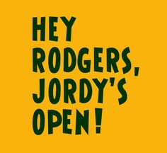 Aaron Rodgers / Jordy Nelson tee by FunhouseTshirts, $14.99