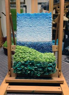 Dimensional Weaving - Martina Celerin 3D fiber art weav wonder, dimension weav, woven weav, weav project