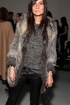 I am OBSESSED with Emanuelle Alt. She kills it every. single. time.