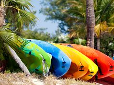 The colors of CocoCay, Bahamas. #kayak