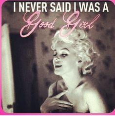 Bad Girl ~ Marilyn