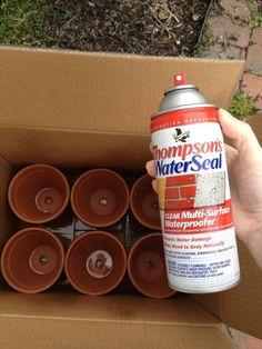 Tip: How to Waterproof Outdoor Items