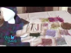 ▶ Bluebutterfly pin looms in multiple sizes - YouTube