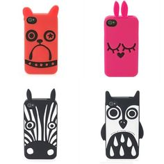 Marc Jacobs animal iPhone cases. Cuteness!