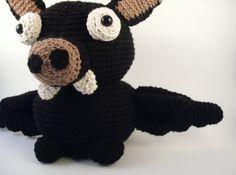 Crochet PATTERN: Amigurumi Bat -pdf-