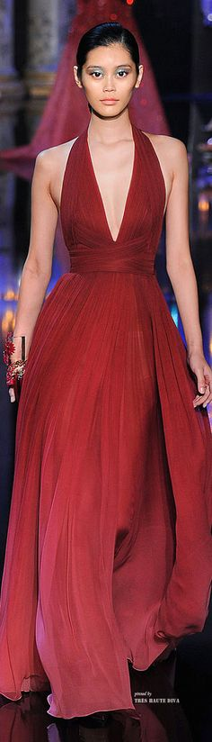 Lady in RED...Elie Saab Haute Couture Fall 2014    jaglady