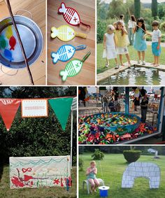 Fishing Theme Party-Games
