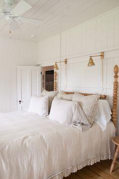 Gwendoline English Pine Spindle Bed | Remodelista