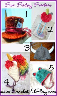 Free Crochet at Play ~ Friday Finds 10-18-13