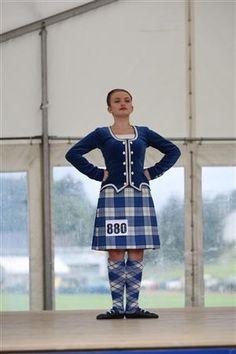 Kilt with royal blue jacket #lennox #royal #blue #tartan