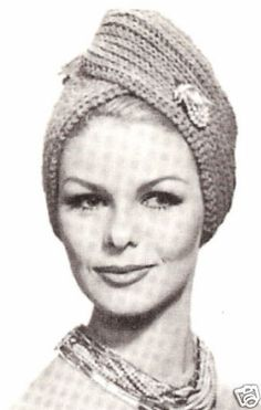 Vintage Turban Head Wrap... <3