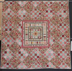 Quilts In The Barn: Mrs Billings Coverlet Special exhibition.