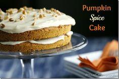 pumpkin spice cake picm thumb Low Fat Pumpkin Spice Cake